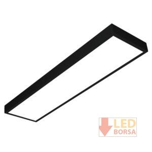 30x120 sıva üstü led panel siyah
