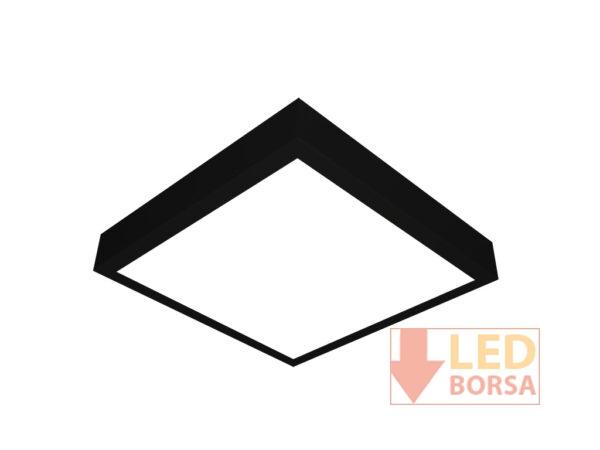 Sıva üstü led panel 40x40 siyah
