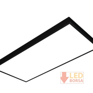 Sıva üstü LED panel 60x120 siyah