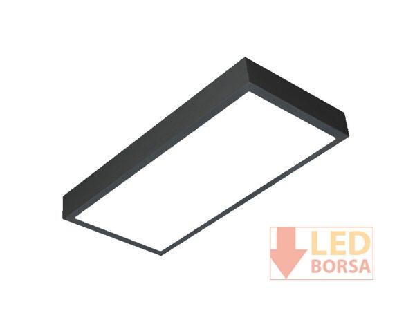 Sıva üstü LED panel 30x60 siyah