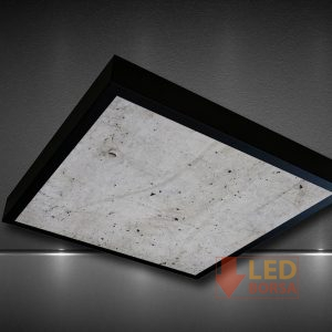 beton desenli led panel