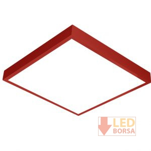 kırmızı led panel