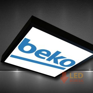 Logo baskılı led panel