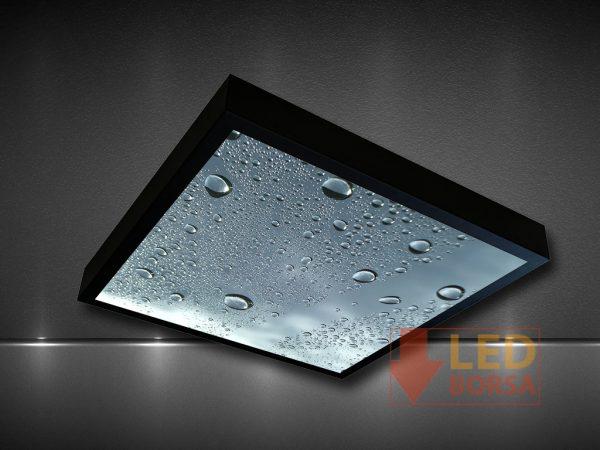 su damlası desenli led panel
