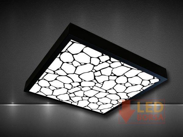 taş desenli led panel
