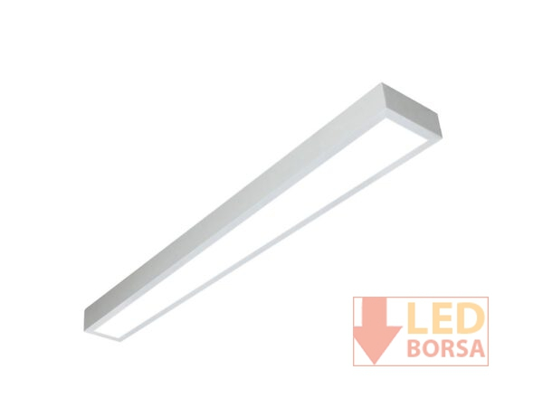 15x120 Sıva üstü led panel beyaz