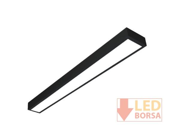 15x120 Sıva üstü led panel siyah