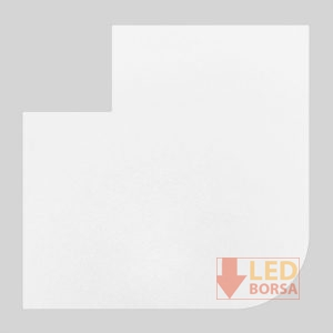 Desenli LED panel kapak 004