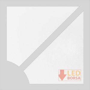 Desenli LED panel kapak 005