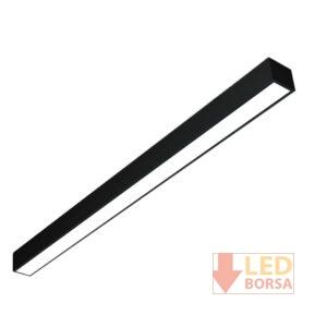 8x105 sıva üstü LED panel siyah
